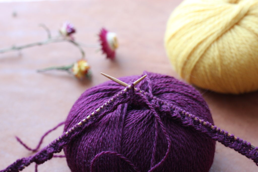Knit in color
