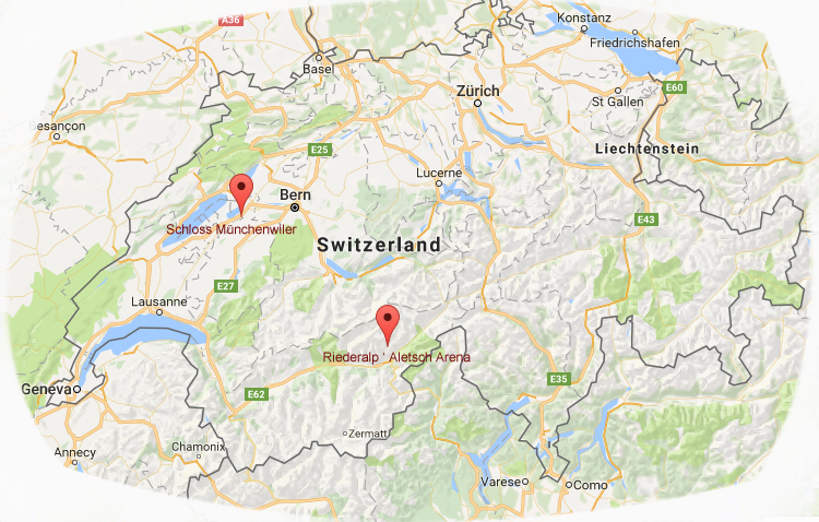 Switzerland and the knitting retreats