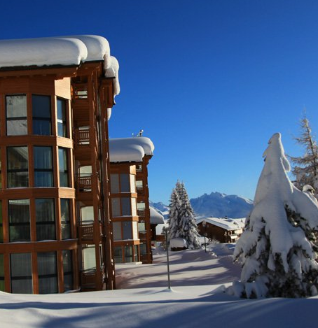 Art Furrer Hotel im Winter